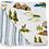 Thumbnail: Wyoming + Western Stripe Classic Muslin Snuggle Blanket