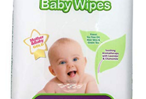Herbal Baby Wipes - Handy to Go Pack - 12 Count