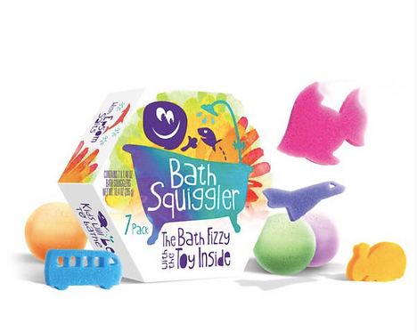 Bath Squiggler Gift Pack - 7 Pack