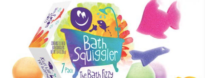 Bath Squiggler Gift Pack - 7 Pack