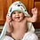 Thumbnail: All I Can Bear - Hooded Towel & Washcloth Bath Set