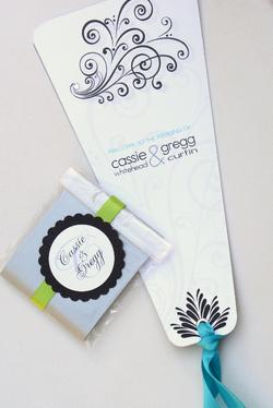 Program & Tissue Pack Favor