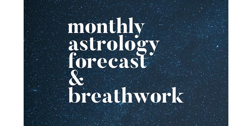 February Astrology Forecast & Breathwork