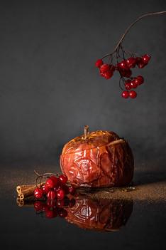 keptas obuolys