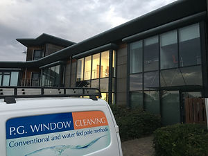 Commercial window cleaning in Thanet Kent