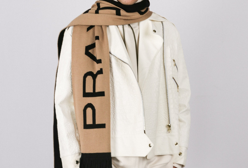 THE PRAY FOR HUMANITY SCARF