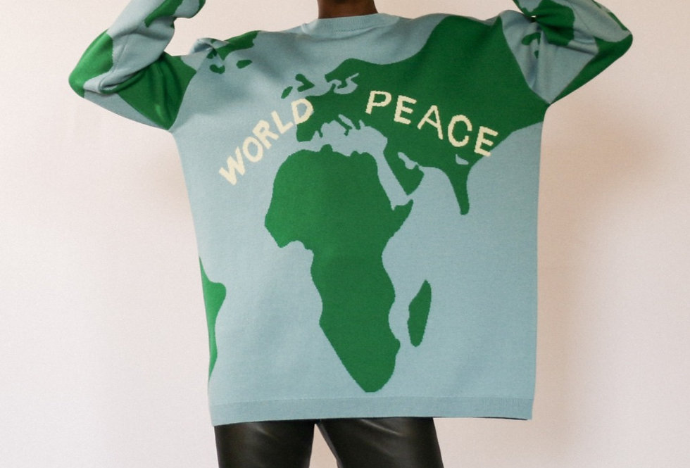 THE WORLD PEACE SWEATER