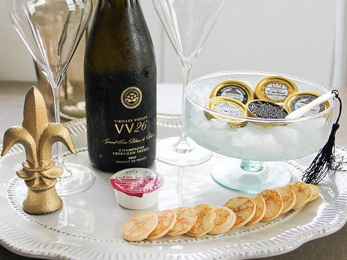 Champagne & Caviar Tasting (6 people)