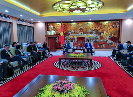 Espelia et ICEA accompagnent le développement durable de la ville d'Hanoi