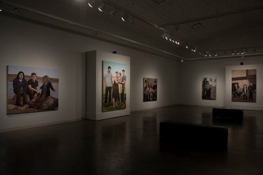 Face à nous exhibition - installation view