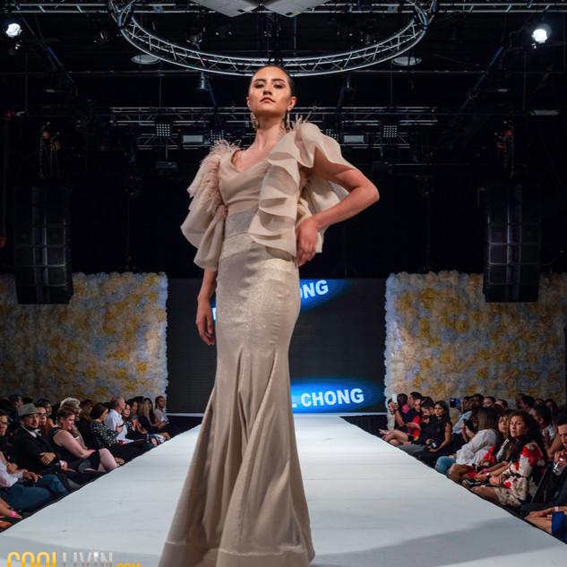 Designer Miquel Chong Latin Fasion Week