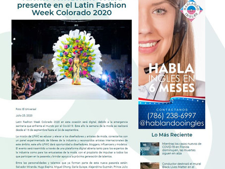 Talento Latino destaca en Latin Fashion Week Colorado