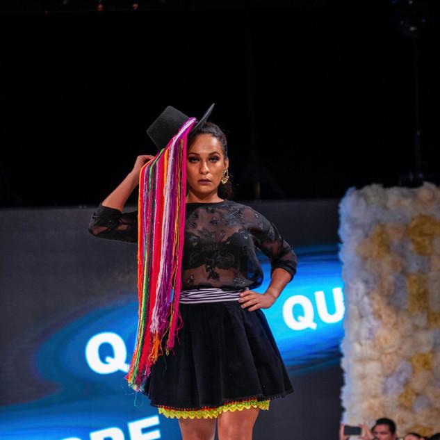 Designer Qarla Quispeb(Peru) Latin Fasio