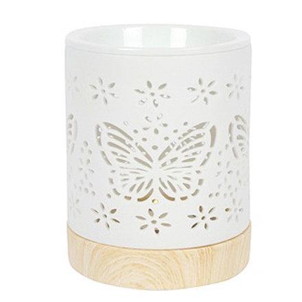 Butterfly Ceramic Wax Burner / Warmer