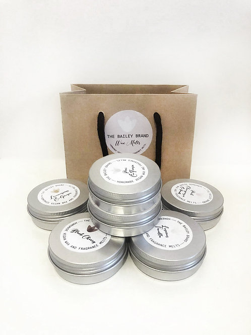6 sample tins of your choice