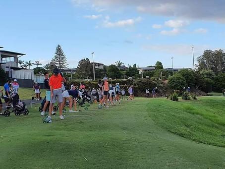 Junior Queensland Golf  Ocean Shores参加!!