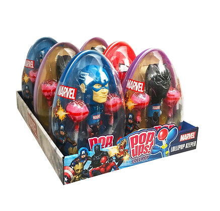 Avengers POP UPS! LOLLIPOP® in Egg