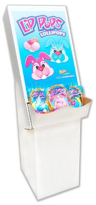 Bunny Lip Pops® Floor Display