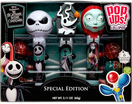 Nightmare Before Christmas POP UPS! LOLLIPOP® 3pk Gift Set