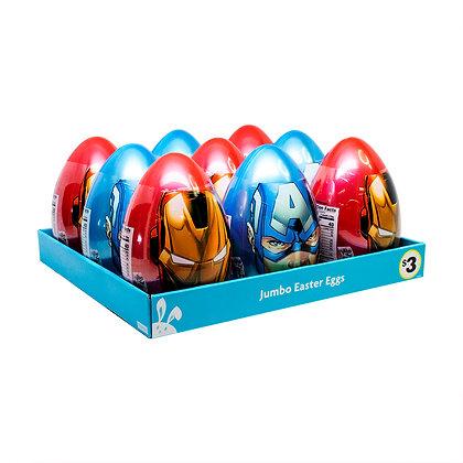 Avengers Jumbo Candy & Sticker Egg