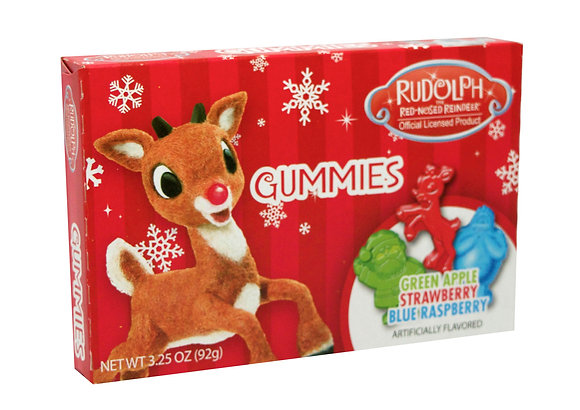 Rudolph Gummy Theater Box