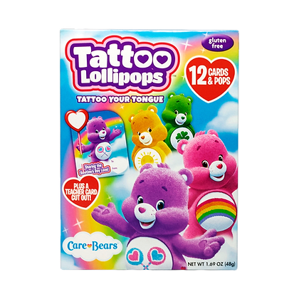 Care Bears 12ct Card & Pop Kits