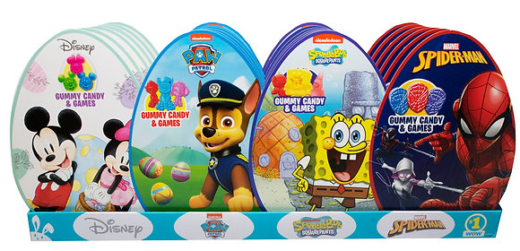 Assorted Egg Shaped Boxes
