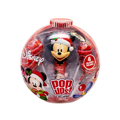Christmas Mickey & Minnie POP UPS! LOLLIPOP® in Holiday Container