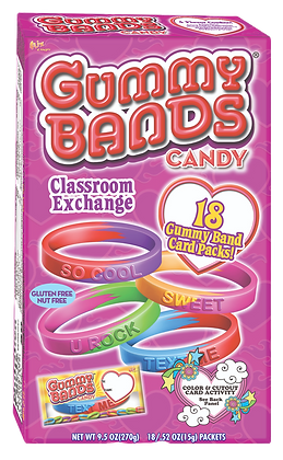 18ct GUMMY BANDS™