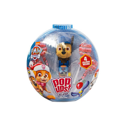 Paw Patrol  POP UPS! LOLLIPOP® in Holiday Container