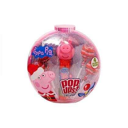 Peppa Pig POP UPS! LOLLIPOP® in Holiday Container