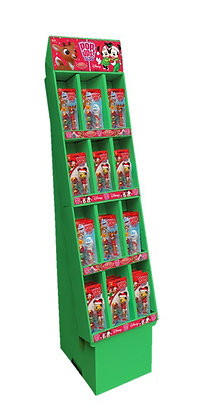 Holiday Classics POP UPS! LOLLIPOP® Blister Cards Floor Display