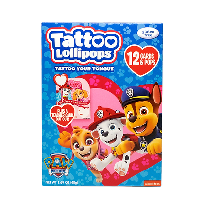 Paw Patrol 12ct Card & Pop Kits