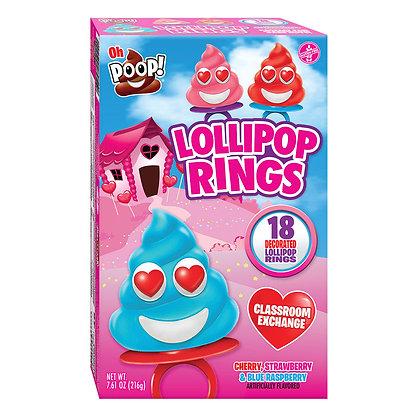 OH POOP!™ 18ct Decorated Lollipop Rings