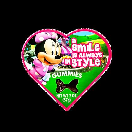 Disney Junior Heart Shaped Box with Gummies