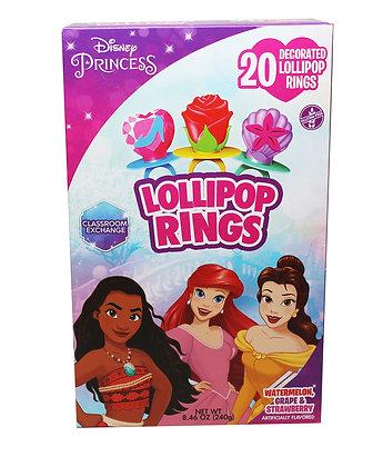 Disney Princess® 20ct Decorated Lollipop Rings