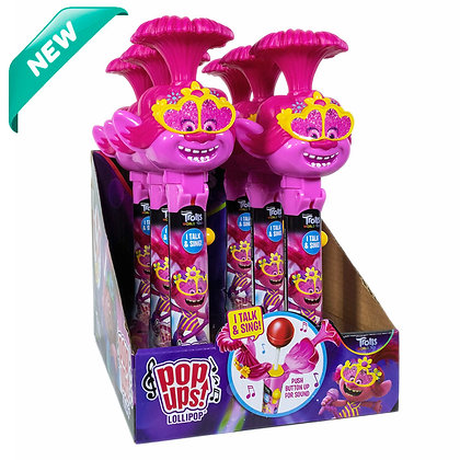 NEW! Trolls Talking & Singing POP UPS! LOLLIPOP®