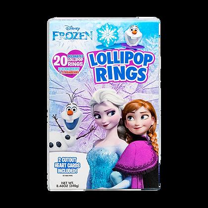 Frozen 20ct Decorated Lollipop Rings
