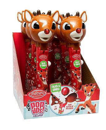 Rudolph the Red Nose Reindeer® TALKING & SINGING POP UPS!®