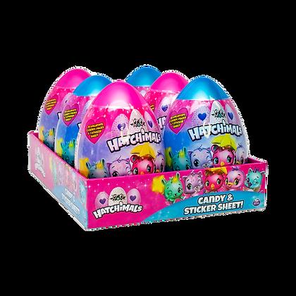Hatchimals Jumbo Candy & Sticker Egg