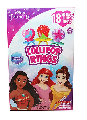 Disney Princess® 18ct Decorated Lollipop Rings