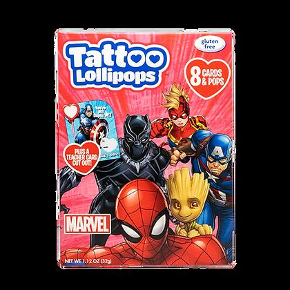 Marvel 8ct Card & Pop Kits