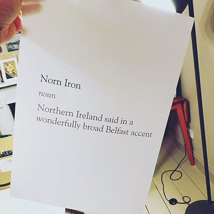 Norn Iron poster