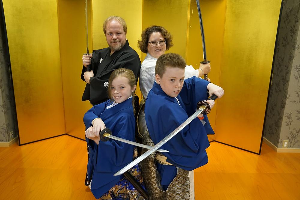 Hubinette's as Samurai