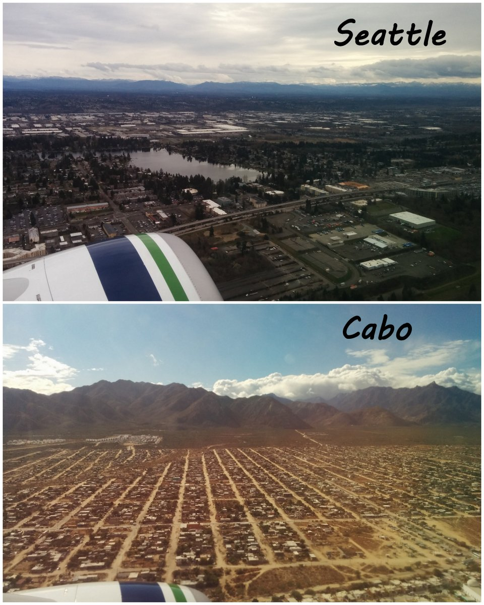 Seattle to Cabo