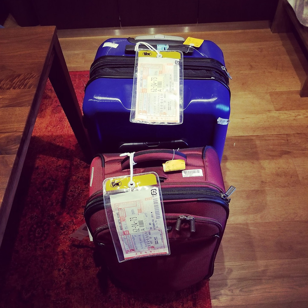 Our remaining luggage