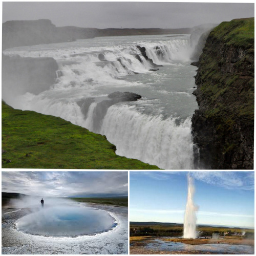 Geysers, waterfalls and other geothermal delights.