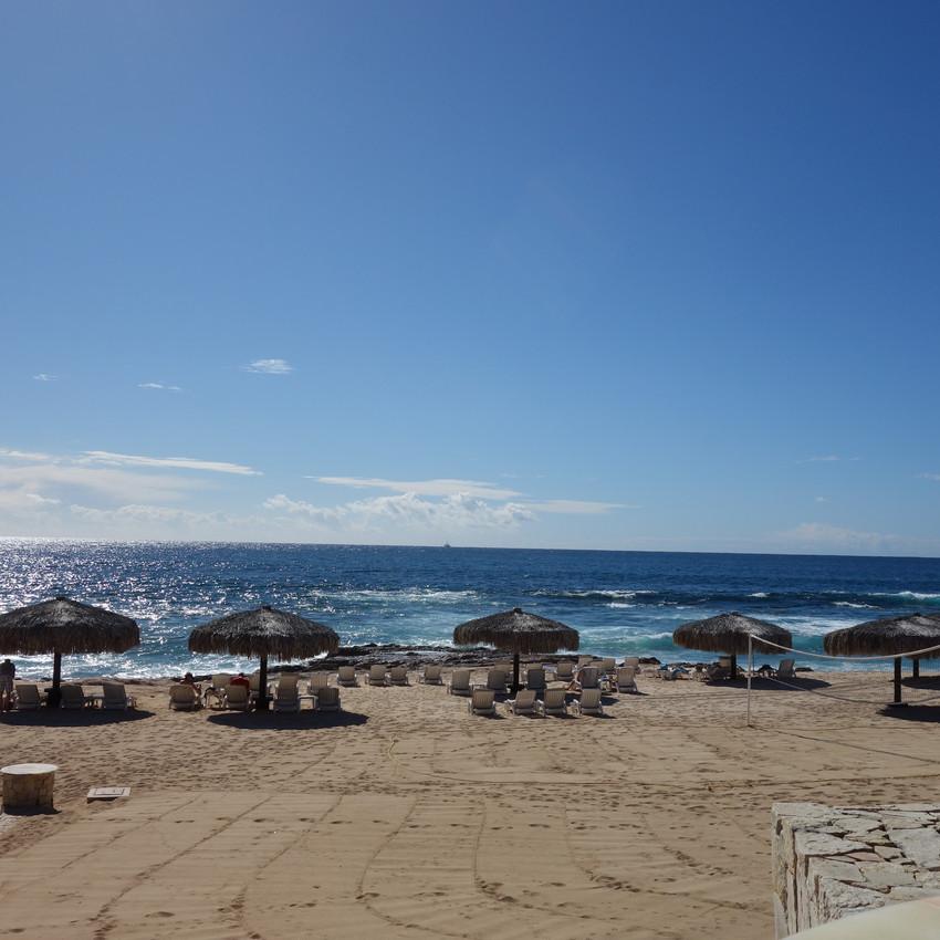 Beach by the main pool