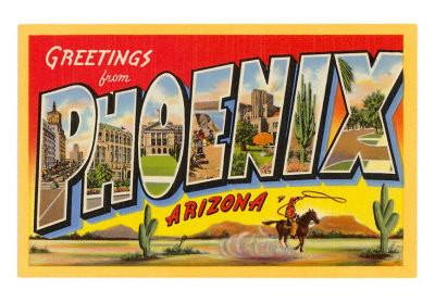 Greeting from Arizona