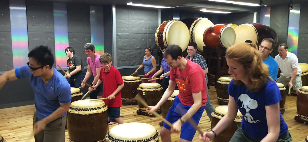All-In Japan - Taiko Drum Class